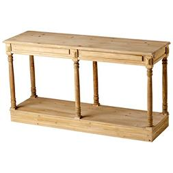 Cyan Design 04724 Cassidy Console, Natural Wood