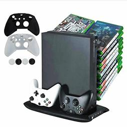 Pandaren 5 in 1 Vertical Stand with 4 USB ports & 2 Cooler &