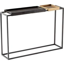 Cyan Design 10741 Lanvin 48 X 12 inch Bronze And Brass Conso