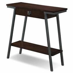 Leick 11432 Empiria Modern Industrial 2 Drawers Hall Console
