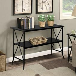 2 layers console table mdf countertop wrought