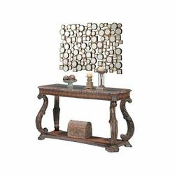 2 Piece Hallway Set with Console Table and Accent Mirror