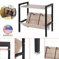 2 Tier Console Table Accent Side Stand Sofa Entryway Hall Di