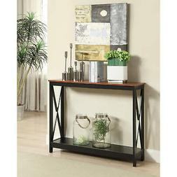 Convenience Concepts 203099CH Oxford Console Table Cherry, C