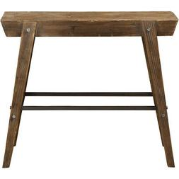 Uttermost 24836 Hayes Console Table Light Gray Washed Fir Wo