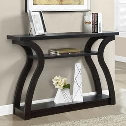 3 Tiered Curved Console Table Entryway Hallway Living Room O