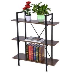 3-Tier Industrial Rustic Entryway Table Console Table Side T