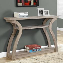 3-Tiered Curved Console Table with Storage - Hall Entryway D