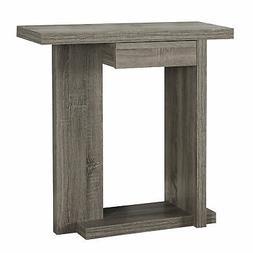 Monarch 32 Console Accent Table Dark Taupe