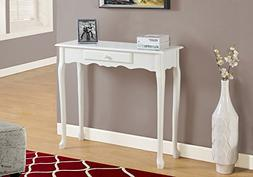 Monarch 36 Console Accent Table Antique White