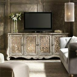 Beaumont Lane 4 Door Console Table in Caramel Froth