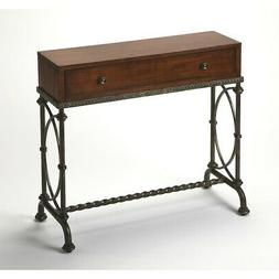 Butler Specialty 4013102 Console Table - Old World Cherry Fi