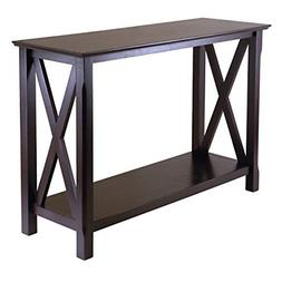 Winsome Wood 40445 Xola Occasional Table, Cappuccino