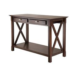 Winsome Wood 40544 Xola Console Entry Table with Drawers