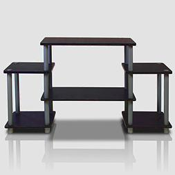 6-Tier TV Stand Home Entertainment Center Table Low Large Wo