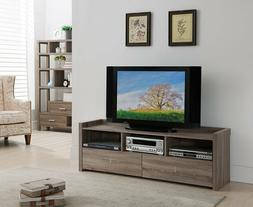60 Inch TV Stand Media Entertainment Console Wood Table Cabi