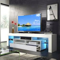 """63"""" TV Cabinet Stand Unit Media Console High Gloss Table for"""