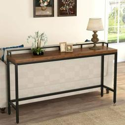 """70.9"""" Extra Long Solid Wood Console Table Behind Sofa Couch"""