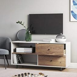 "Nathan James 79901 Tora 46"" TV Stand Media Wooden Console Oa"