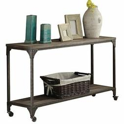 Acme Furniture 81449 Gorden Sofa Table, One Size, Weathered