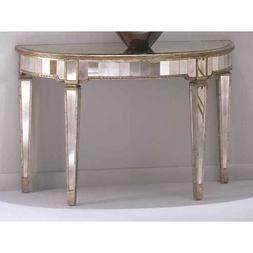 Bassett Mirror 8311-400EC Borghese Mirrored Console with Ant
