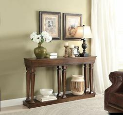 Acme Furniture ACME Garrison Oak Console Table