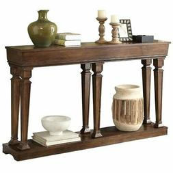 "Bowery Hill 60"" Console Table in Oak"