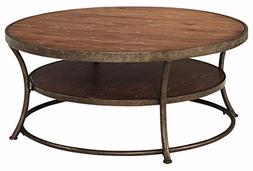 Ashley Furniture Signature Design - Nartina Casual Round Coc