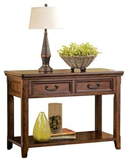 Ashley Furniture Signature Design - Woodboro Sofa Table - En