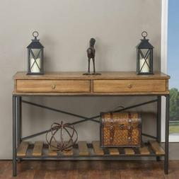 Baxton Studio Newcastle Console Table