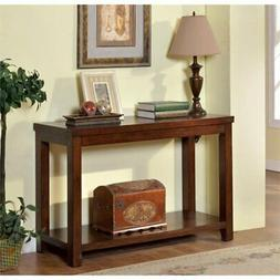 Furniture of America Torrence Transitional Sofa Table, Dark