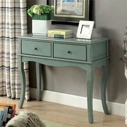 Bowery Hill Console Table in Teal