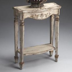 Butler Console Table 30.25H in. - Guilded Cream
