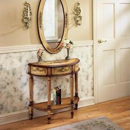 Butler Specialty 667051 Demilune Console Table - Light Hand