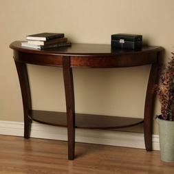 console table half round sofa hall modern