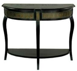Console Table Hall Table Demilune Shape Traditional Style