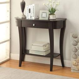 Convenience Concepts Newport 1 Drawer Console Table