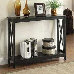 oxford rectangle console table