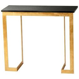 Cyan Design Dante Console Table, Gold and Black - 05241