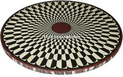 End Marble Console Tops Table Round Furniture Inlay Arts Gar