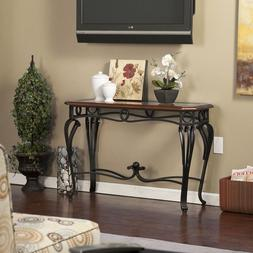 Entry Table Front Console Living Room Sofa Accent Unique Chi
