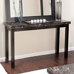 Galassia Faux Marble Console Table