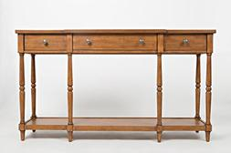 "Jofran: 1631-60, Stately Home, 60"" Console, 60""W X 14""D X 34"