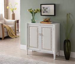 Kings Brand Furniture 2 Door Entryway Console Table Accent C