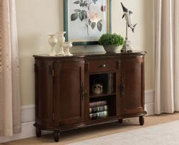 Kings Brand Furniture - Buffet Server / Sideboard Console Ta