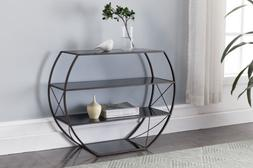 Kings Brand Furniture - Entryway Console Table with Storage