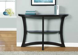 "Monarch Two Tier Hall Console Accent Table, 47"", Cappuccino"