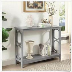 Narrow Table Console Sofa Tall Slim Entryway Small Accent Wo