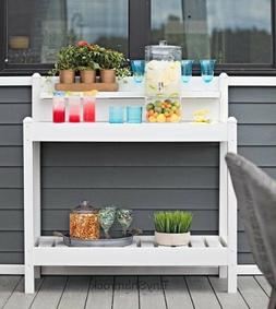 Outdoor Sideboard Console Buffet Table Potting Bench Patio F
