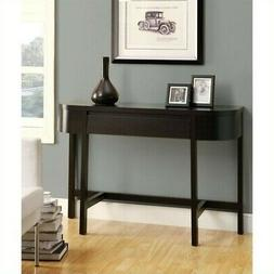 "Pemberly Row 48"" Console Accent Table in Cappuccino"